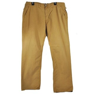 Big Star Men's Casual Slim Work Light Brown Size 34 Long Pants