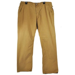 Big Star Men's Casual Slim Work Light Brown Size 38 Pants