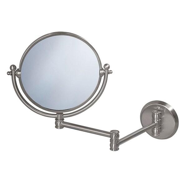 Gatco GC1408 Wall Swing Mirror - satin nickel - N/A