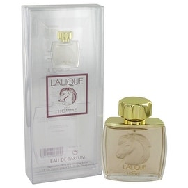 Lalique Equus by Lalique Eau De Parfum Spray 2.5 oz - Men