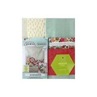 Adornit Sweet Hexis Quilt & Template Kit