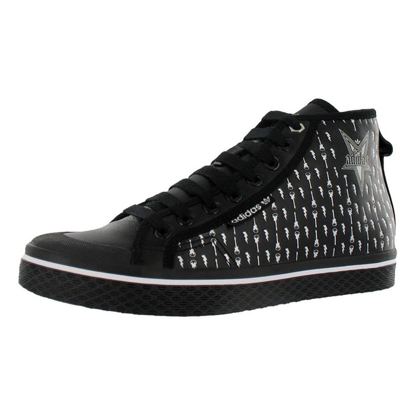 Shop Adidas Honey Mid Womens Shoes Black/silver - 8.5 B(M) US - Overstock -  22021231