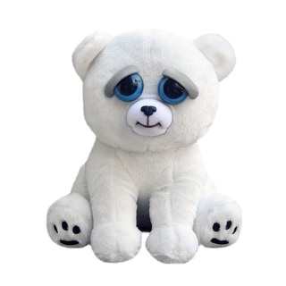 "Feisty Pets Karl The Snarl Polar Bear 8"" Plush - multi"