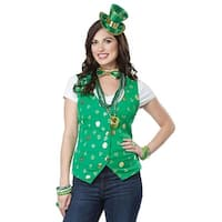 Lucky Lady Adult Costume Kit - Green