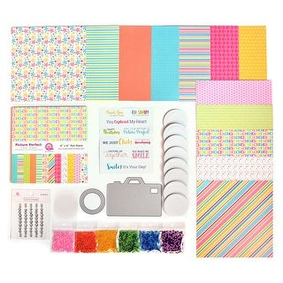 Queen & Company Card Making Kit-Makes 8 Picture Perfect Camera Shakers
