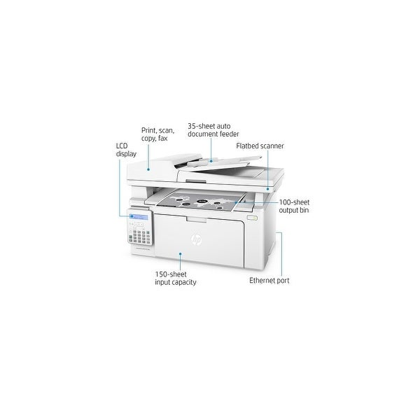 Shop HP LaserJet Pro MFP M130fn Multifunction Laser Printer w