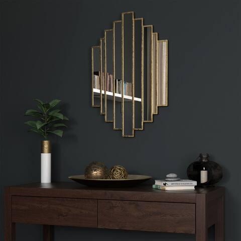 Briggs Gold Metal Mirror - 21 x 32