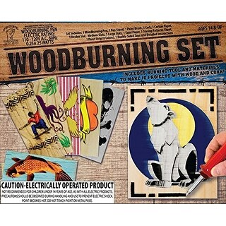 Woodburning Craft Set - multi