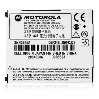OEM Motorola Slim Lithium Ion Battery for Motorola V710 (SNN5695A)