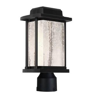"Artcraft Lighting AC9123 Addison Single Light 14-3/4"" High Integrated LED Outdoor Post Light"