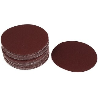 Glass Fiber Plate Grinding 100 Grit Abrasives Stick Sanding Disc 50PCS