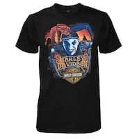 Harley-Davidson Men's No Joke All-Cotton Short Sleeve T-Shirt, Solid Black