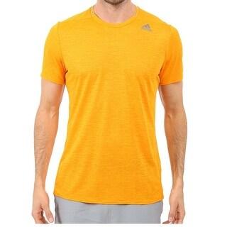 Adidas NEW Orange Mens Size XL Active Supernova Running Crewneck Top