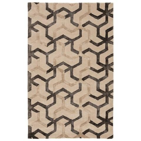 Stellan Handmade Geometric Area Rug