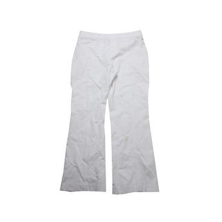 Inc International Concepts White Flared Leg Trousers 0
