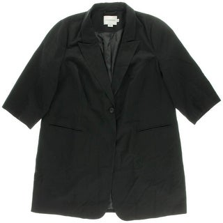 Junarose Womens Plus 3/4 Sleeves Tunic Blazer - 20