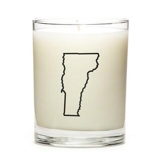 Custom Gift - Map Outline of Vermont U.S State, Lemon