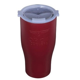 Orca ORCCHA27DM/WH Drinkware Vacuum Mugs, Maroon/White, 27 OZ