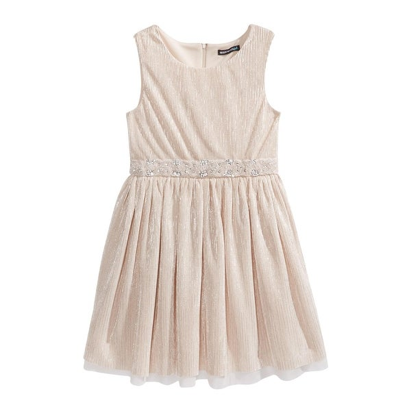 0db0808d72f7c Sequin Hearts Girls Party Dress Metallic - 14