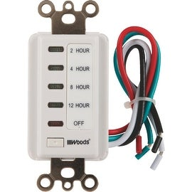 Woods 12 Hour Wall Timer