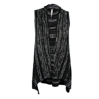 Kensie Women's Open-Front Vest (Option: White - XS/S)