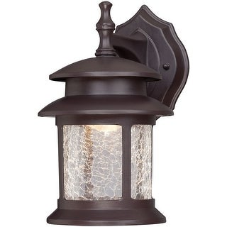Westinghouse 64003 LED Wall Mount Lantern, Oil Rubbed Bronze