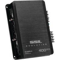 Soundstorm Ev400.4 Evolution Series 400-Watt 4-Channel Mosfet Class Ab Amp (Black)