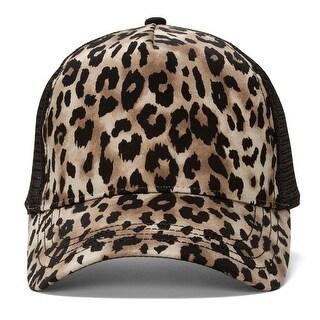 Animal Print Fashion Trucker Cap