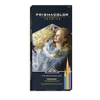 Prismacolor Verithin Colored Pencils, Assorted Popular Colors, Set of 24