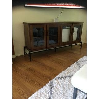 Carson Carrington Daugavpils TV Console Display Cabinet - 60 x 29