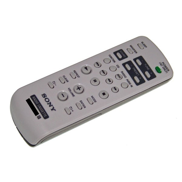 OEM Sony Remote Control Originally Shipped With: CFDG70, CFD-G70, CFDG700CP, CFD-G700CP