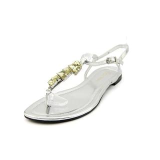Enzo Angiolini Tootsy Open Toe Synthetic Thong Sandal