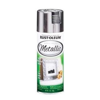 Rust-Oleum 1915830 Specialty Metallic Spray Paint 11 Oz, Silver