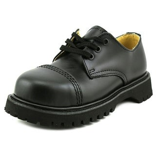 Demonia Rocky Round Toe Leather Oxford