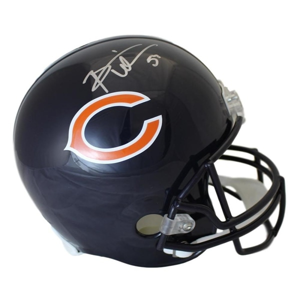 f21d8a905b8 Shop Brian Urlacher Autographed Chicago Bears Replica Helmet JSA - Free  Shipping Today - Overstock.com - 22390208