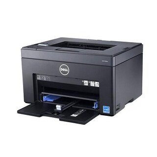 Dell C1760NW Color Laser Printer with Extra Dell XKP2P Black Toner