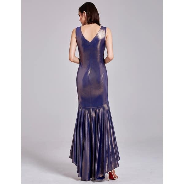 93cbcb262d1e Ever-Pretty Christmas Women's V-neck Elegant Hi-Low Sleeveless Special  Occasion Dress