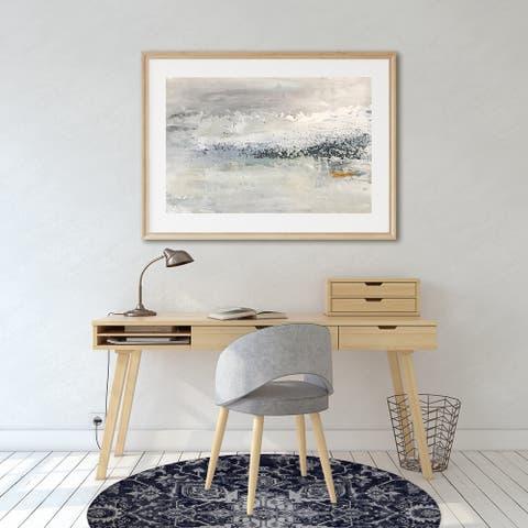 SERAPI NAVY Office Mat By Kavka Designs