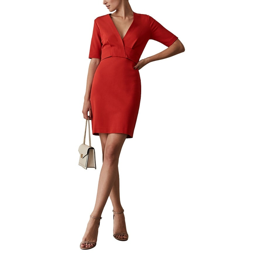 Reiss Rebecca Fitted Dress