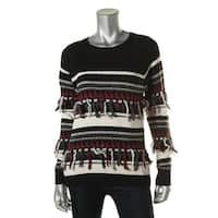 Private Label Womens Fringe Long Sleeves Sweater