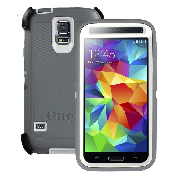 OtterBox Defender Series Protective Case Cover for Samsung Galaxy S5 - Black