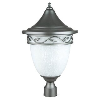 "Sunset Lighting F8342 3 Light 22"" Height Outdoor Post Light"