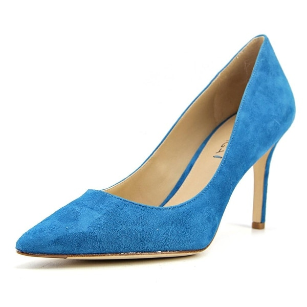 350dff6243f3 Shop Via Spiga Carola Women Pointed Toe Suede Blue Heels - Free ...