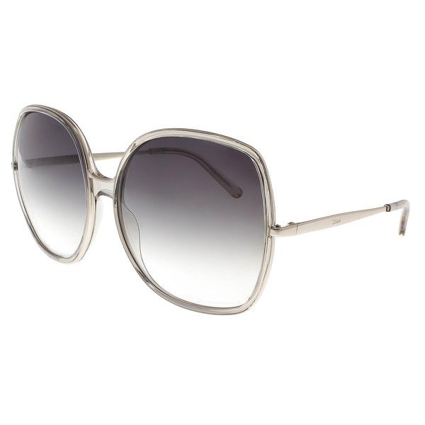 b10824f3931 Shop Chloe CE725 S 272 Turtledove Square Sunglasses - 62-17-135 ...
