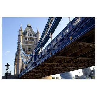 """Tower Bridge in London, England"" Poster Print"