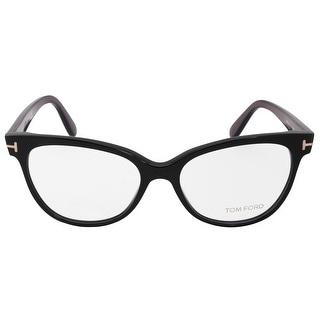 ff2cbfd5a2 TOM FORD TF 5146 eyeglasses 003 Top Black on Crystal 56mm