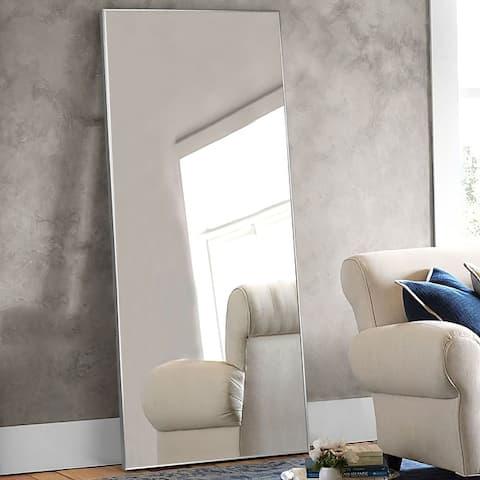 Neutypechic Huge Modern Framed Full Length Floor Mirror