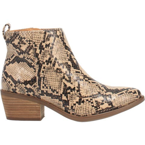 Code West Voodoo Snake Round Toe Womens Western Cowboy Boots