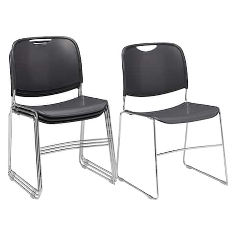 (4 Pack) NPS Hi-tech Ultra Compact Stack Chair
