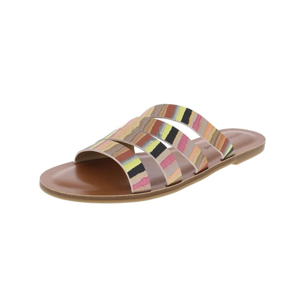Lucky Brand Womens Anika Slide Sandals Leather